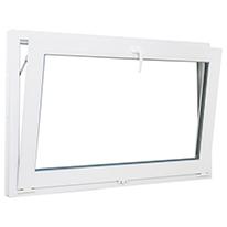 Окно-фрамуга ПВХ одностворчатое 80х120 см откидное